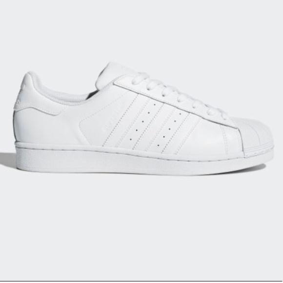 quality design 406fd e6a7e White Sko Poshmark Adidas Kvinder Allstars P68xYqw